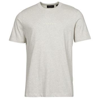 material Men short-sleeved t-shirts Scotch & Soda GRAPHIC LOGO Grey