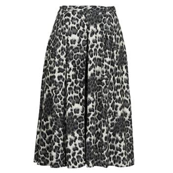 material Women Skirts See U Soon 21232098 Black / White