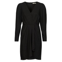 material Women Short Dresses See U Soon 21222038 Black