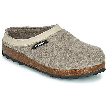 Shoes Women Slippers Giesswein CHAMEREAU Beige