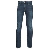 material Men slim jeans Teddy Smith REEPLE ROCK Blue / Dark