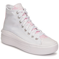 Shoes Women High top trainers Converse CHUCK TAYLOR ALL STAR MOVE HYBRID FLORAL HI White