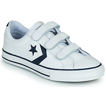 Shoes Children Low top trainers Converse STAR PLAYER 3V BACK TO SCHOOL OX White / Blue
