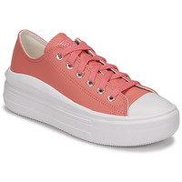 Shoes Women Low top trainers Converse CHUCK TAYLOR ALL STAR MOVE HYBRID SHINE OX Pink
