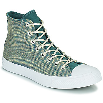 Shoes Men High top trainers Converse CHUCK TAYLOR ALL STAR SURFACE FUSION HI Green