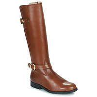 Shoes Girl Boots Acebo's 9904-CUERO-T Brown