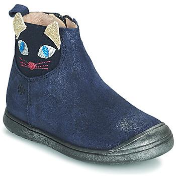Shoes Girl Mid boots Acebo's 3159SU-MARINO Marine