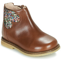 Shoes Girl Mid boots Acebo's 3202-CUERO-C Brown