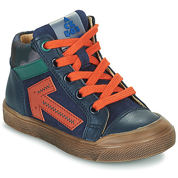 Shoes Boy High top trainers Acebo's 5567-MARINO-J Marine