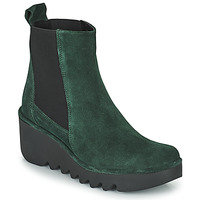 Shoes Women Ankle boots Fly London BAGU Green