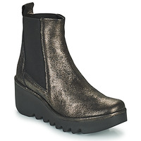 Shoes Women Ankle boots Fly London BAGU Grey / Gold