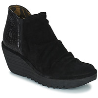 Shoes Women Ankle boots Fly London YAMI Black