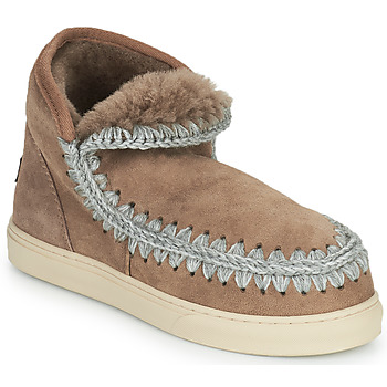 Shoes Women Mid boots Mou ESKIMO SNEAKER Brown