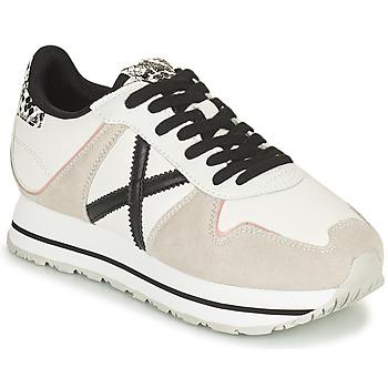 Shoes Women Low top trainers Munich MASSANA SKY Beige / White / Black