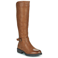 Shoes Women Boots Moony Mood PARIO Brown