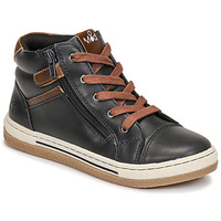 Shoes Boy High top trainers Mod'8 KYNATA Marine / Marron