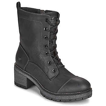 Shoes Women Ankle boots Mustang 1374601 Anthracite