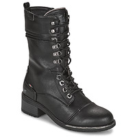 Shoes Women Boots Mustang 1402501 Black