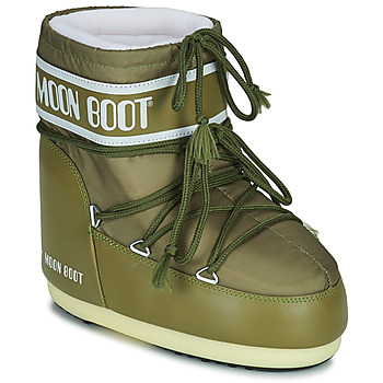 Shoes Women Snow boots Moon Boot MOON BOOT ICON LOW 2 Kaki
