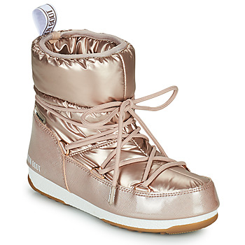 Shoes Women Snow boots Moon Boot MOON BOOT LOW PILLOW WP Pink