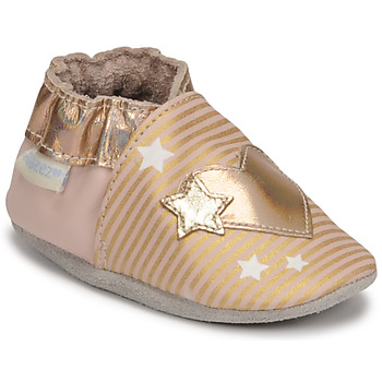 Shoes Girl Baby slippers Robeez LOVE GALAXY Pink / Gold