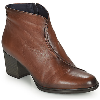 Shoes Women Ankle boots Dorking BRISE Brown