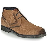 Shoes Men Mid boots Fluchos GAMMA Brown