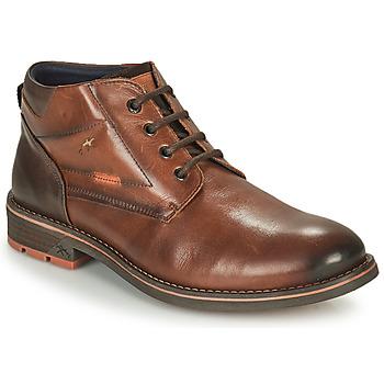 Shoes Men Mid boots Fluchos TERRY Brown