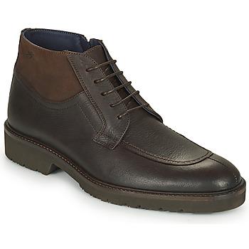 Shoes Men Mid boots Fluchos CAVALIER Brown
