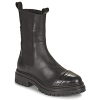Shoes Women Mid boots Ikks BT80095 Black