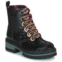 Shoes Women Mid boots Irregular Choice MORNING STROLL Black