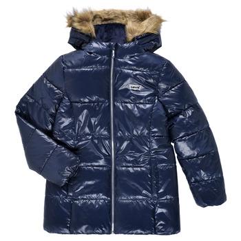 material Girl Duffel coats Levi's FUR PUFFER Marine