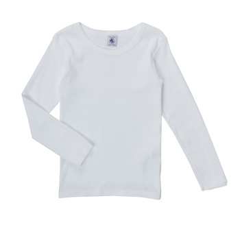 material Girl Long sleeved shirts Petit Bateau FATRE White