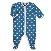 material Boy Sleepsuits Petit Bateau SOLARIE Blue / White
