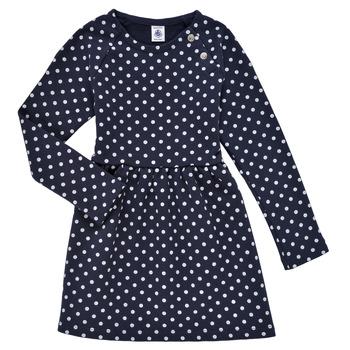 material Girl Short Dresses Petit Bateau KARREMA Blue / White