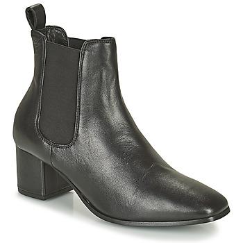 Shoes Women Boots Levi's DELILAH CHELSEA Black