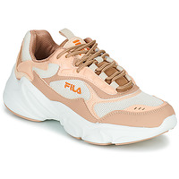 Shoes Women Low top trainers Fila COLLENE CB Pink / White