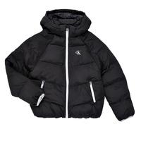material Girl Duffel coats Calvin Klein Jeans BRINIMA Black