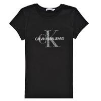 material Girl short-sleeved t-shirts Calvin Klein Jeans VOYAT Black