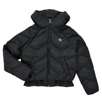 material Girl Duffel coats Calvin Klein Jeans ZIETRA Black