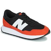 Shoes Men Low top trainers New Balance 237 Black / Orange