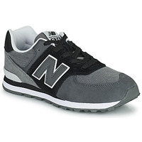 Shoes Boy Low top trainers New Balance 574 Grey / Black