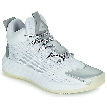 Shoes Basketball shoes adidas Performance PRO BOOST MID White / Silver