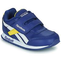 Shoes Children Low top trainers Reebok Classic REEBOK ROYAL CLJOG 2  KC Blue / Yellow / White
