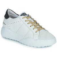 Shoes Women Low top trainers Semerdjian KYLE White / Beige / Black