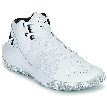 Shoes Men Basketball shoes Under Armour JET '21 White / White
