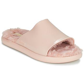 Shoes Women Sliders Melissa MELISSA FLUFFY SIDE AD Pink