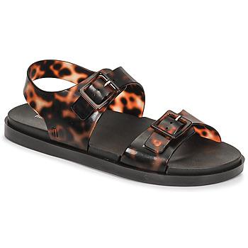 Shoes Women Sandals Melissa MELISSA WIDE SANDAL AD Brown / Black
