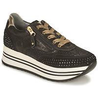 Shoes Women Low top trainers NeroGiardini CAROTTO Black