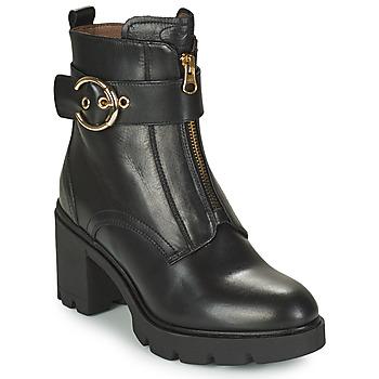 Shoes Women Ankle boots NeroGiardini CELERO Black